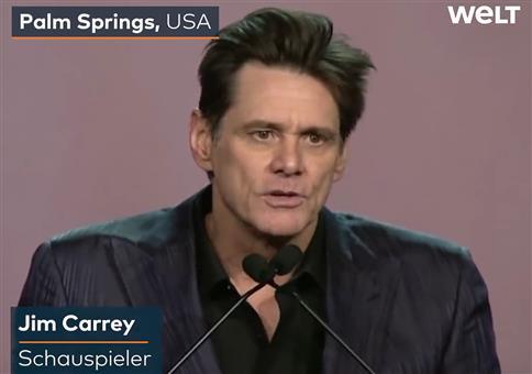 Jim Carrey - Meditation zum vergangenen Jahr