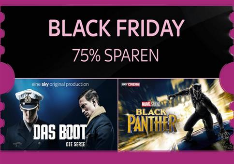 Sky Entertainment Ticket + Sky Cinema Ticket für 4,99€ statt 25€