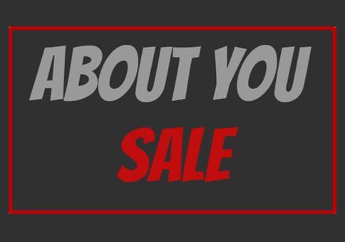 About You Sale mit bis zu 70% + 10€ Gutschein