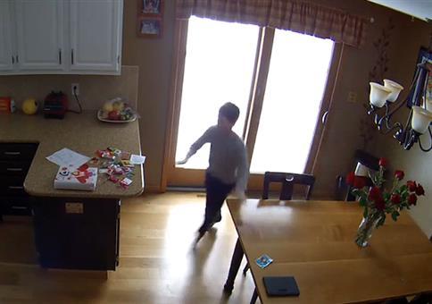 Kleine Turnübung in der Küche - FAIL