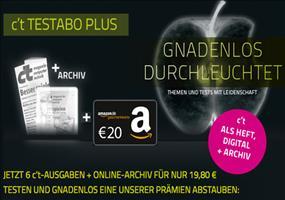 6x c't Zeitschrift + Amazon Gutschein