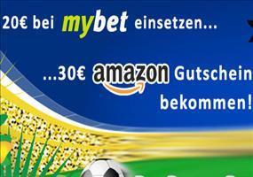 30€ Amazon Gutschein geschenkt für WM-Tipps