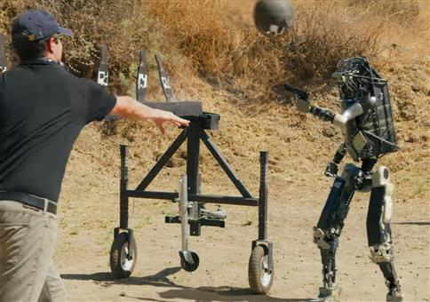 Bosstown Dynamics: Roboter mit Waffe