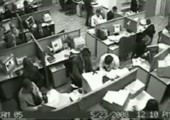 Ausraster im Büro