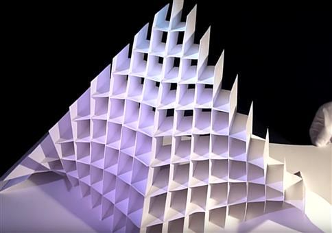 Beeindruckende Pop-Up Papier Skulpturen