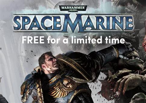 Warhammer 40k Spacemarine geschenkt!