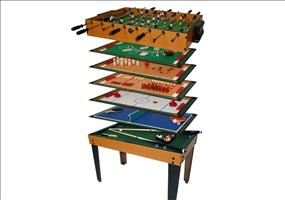 Tischfußball Multigame 13 in 1