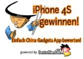 China Gadgets App testen und iPhone4S gewinnen