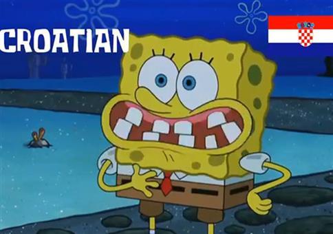 Spongebob spricht Deutsch in verschiedenen Synchros