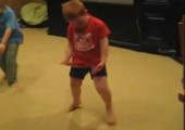 Benny in jungen Jahren beim Tanzen
