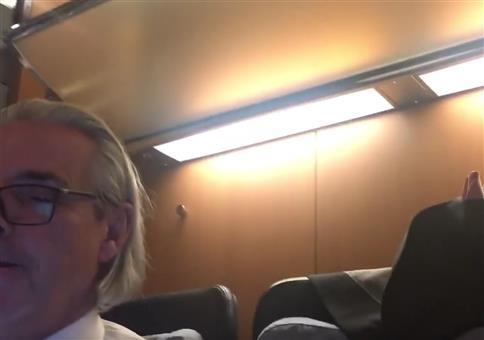 Wahnsinn in der Deutschen Bahn - Licht an oder Licht aus?!