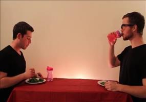 Wie Tiere ihr Essen fressen