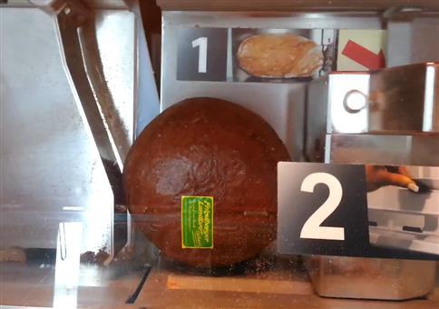 Automatische Brotschneidemaschine VS Brot