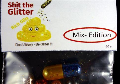 Shit the glitter!