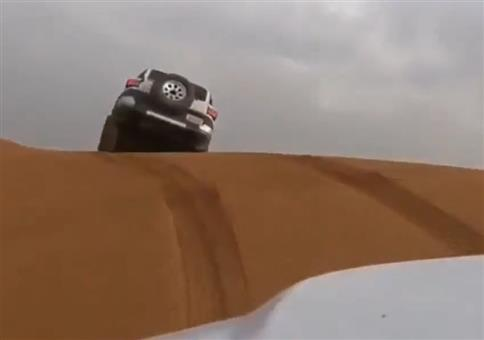 Vollgas bei der Wüstenrallye