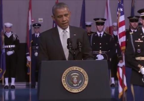 Sprachlose Rede von Herrn Obama