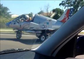 Piloten auf dem Heimweg