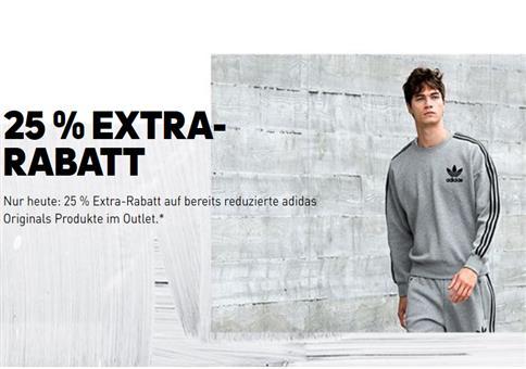 NUR HEUTE! Adidas Originals Sale mit 25% extra Rabatt!