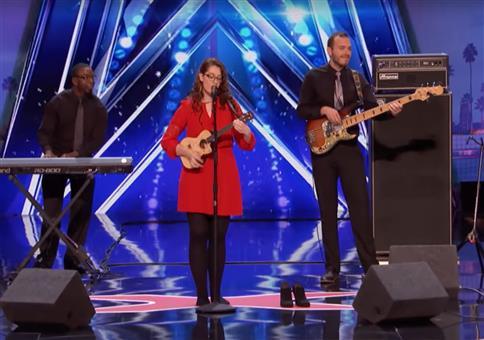 Gehörlose Sängerin Mandy Harvey bei America's got Talent