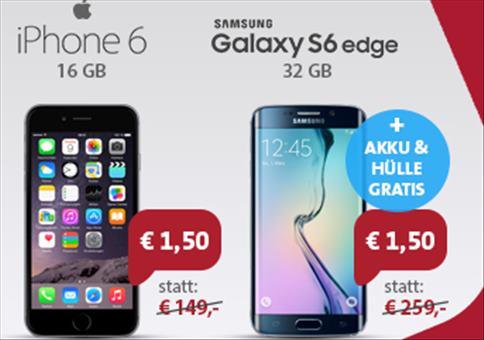 KRACHER: iPhone 6 + Galaxy S6 Edge!