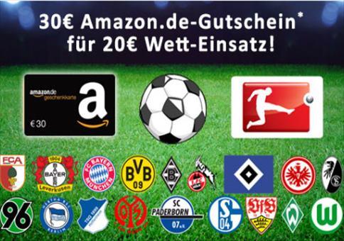 Bundesliga: 10€ garantierter Gewinn!