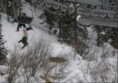 Benny war Ski fahren