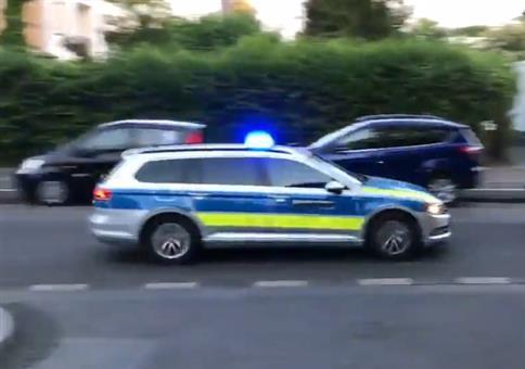 Mit dem Roller auf der Flucht vor der Polizei