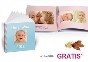 Fotobuch mit 30 Seiten kostenlos