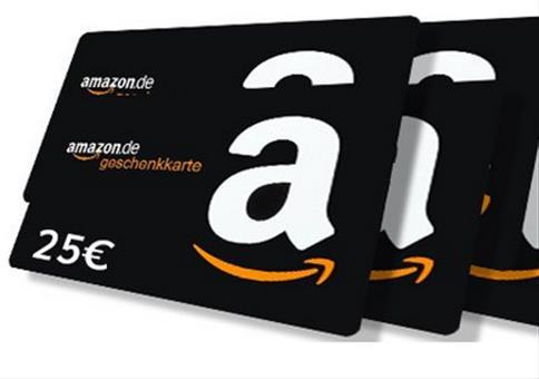 Gewinnspiel: wir verlosen 8 x 25€ Amazon Gutscheine