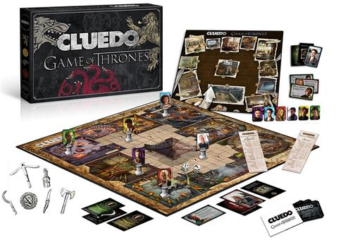 Cluedo Game of Thrones Collector's Edition
