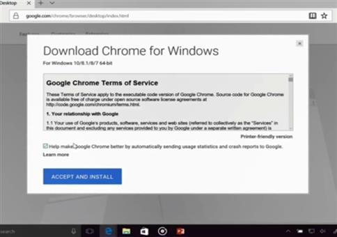Microsoft Live Präsentation: Erstmal Chrome installieren