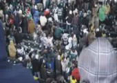 Fans im falschen Fanblock
