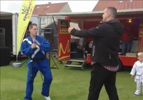 Taekwondo Demo like a boss