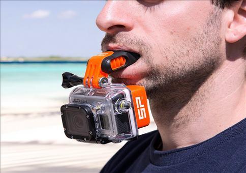 Mundhalterung für die GoPro