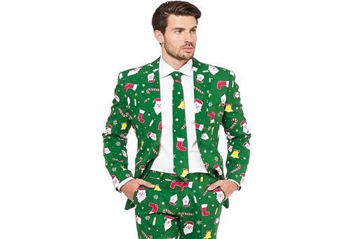 Stylischer Anzug für kommende Weihnachten