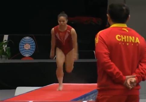 Damenweltmeisterschaft im Tumbling