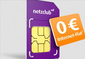 GRATIS: Surf-Flat bei Netzclub im Sponsored Surf Basic-Tarif
