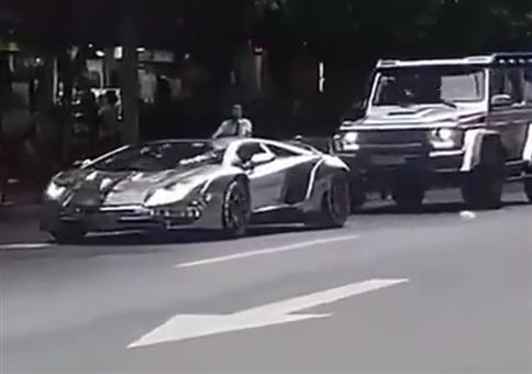Der Lamborghini und der Mülleimer