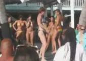 Sexy Babe tanzt für euch