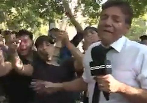 TV Reporter berichtet über die Legalisierung von Marihuana