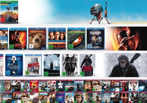 Saturn Weekend Sale: Filme, Spiele & Musik zu krassen Preisen