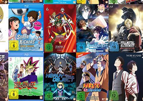 Anime-Aktion – Nimm 3, Zahl 2 bei MediaMarkt