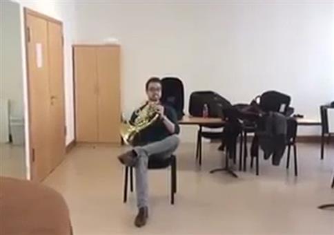 Horn und Stuhl