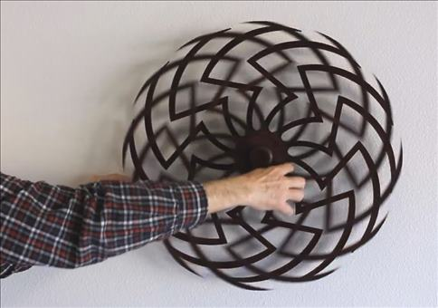 Zinnia Kinetic Sculpture