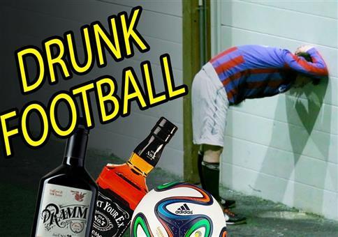 Drunk Football - Komplett besoffen Fußball spielen