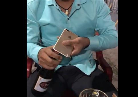 Bierchen mit dem iPhone öffnen