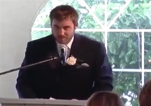 Wenn dein Bruder auf deiner Hochzeit eine Rede hält