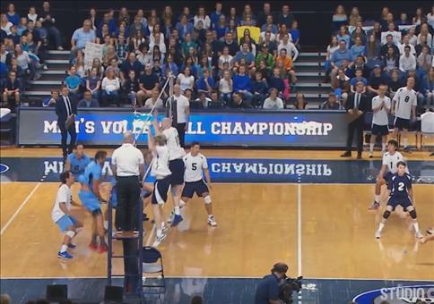 Die schönsten Volleyballblocks