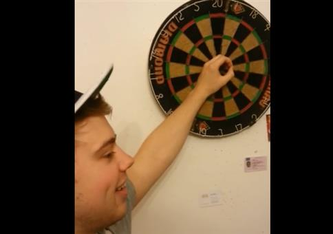Risky Darts Shot