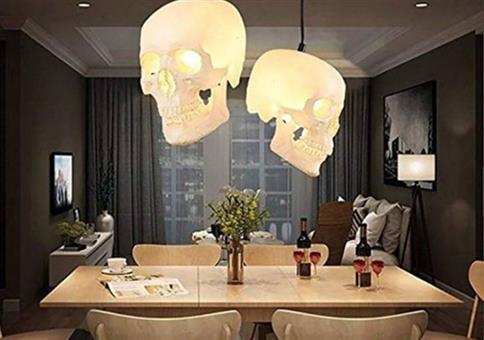 Schicke Totenkopflampen